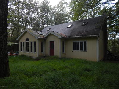 Brodheadsville PA Single Family Home For Sale: $110,000