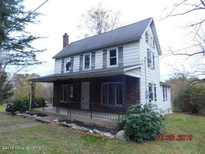 East Stroudsburg Single Family Home For Sale: 209 Brushy Mtn
