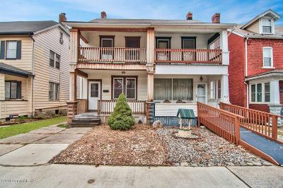 Palmerton Single Family Home For Sale: 405 Lehigh Ave