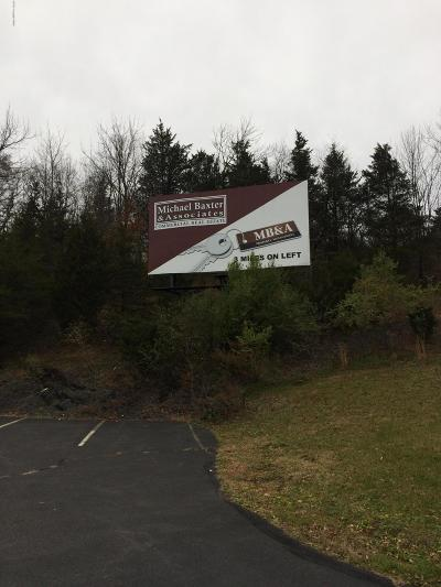 Stroudsburg Commercial For Sale: 6515 Route 209, Billboard