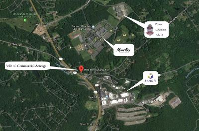 Monroe County Commercial For Sale: 1923 Route 611 Rte