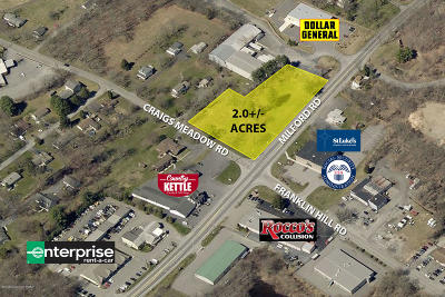 Monroe County Commercial For Sale: Milford Rd & Craigs Meadow Rd