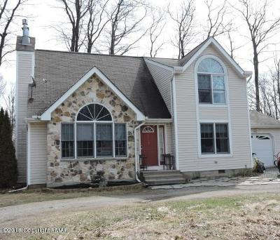 Tobyhanna PA Single Family Home For Sale: $124,900
