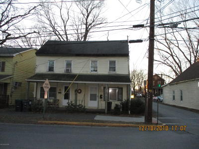 Stroudsburg Single Family Home For Sale: 35-37 N Tenth St