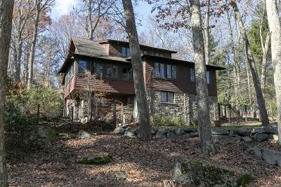 Buck Hill Falls Single Family Home For Sale: 361 Knoll Dr