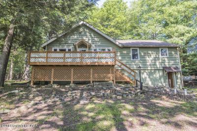 Lake Harmony Single Family Home For Sale: 14 Birchwood Rd