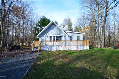 Pocono Lake Single Family Home For Sale: 167 Canoe Trl