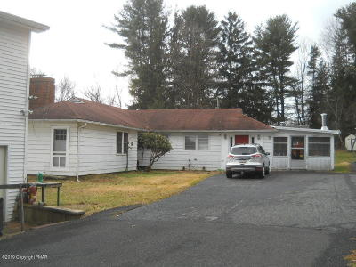 Stroudsburg Single Family Home For Sale: 1829 Route 715
