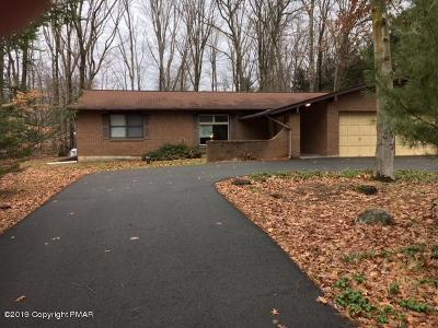 East Stroudsburg Single Family Home For Sale: 18 Bull Pine Rd
