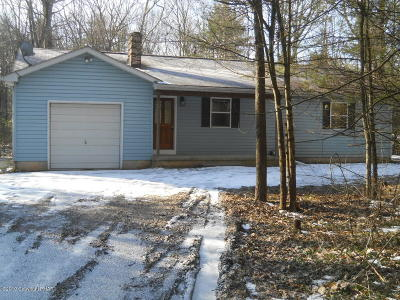 Kunkletown Single Family Home For Sale: 104 Wood Ln
