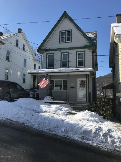 Jim Thorpe Single Family Home For Sale: 59 W Front St