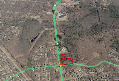 Tobyhanna Commercial For Sale: Route 196 & Kings Way