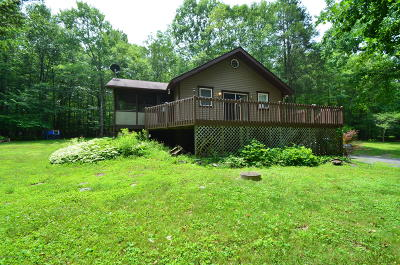 Bartonsville, Delaware Water Gap, East Stroudsburg, Marshalls Creek, Shawnee On Delaware, Stroudsburg, Tannersville Single Family Home For Sale: 2601 Pocono Forested Dr