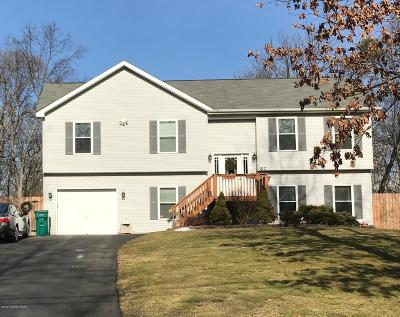 Bartonsville, Delaware Water Gap, East Stroudsburg, Marshalls Creek, Shawnee On Delaware, Stroudsburg, Tannersville Single Family Home For Sale: 217 Clubhouse Dr