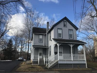 Stroudsburg Single Family Home For Sale: 9 Elm St
