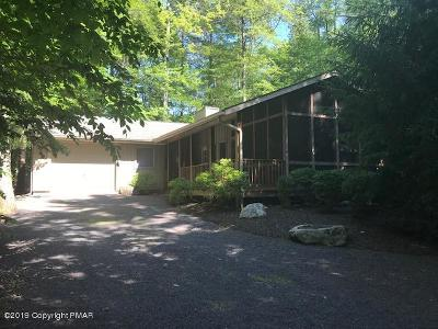 lake naomi, Timber Trails Single Family Home For Sale: 1107 Deer Trail Road