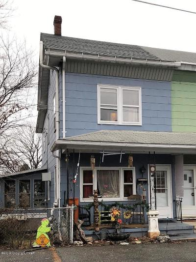 Jim Thorpe Single Family Home For Sale: 244 Center Ave