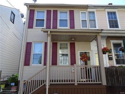 Bethlehem Single Family Home For Sale: 26 E Garrison St