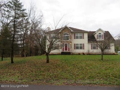 Stroudsburg Single Family Home For Sale: 206 Paula Dr