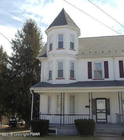 Jim Thorpe Single Family Home For Sale: 332 South St