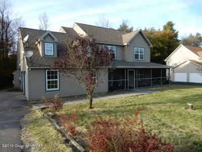 Pocono Lake Single Family Home For Sale: 123 Greenwood Dr