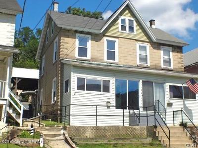 Palmerton Single Family Home For Sale: 553 Mauch Chunk Rd