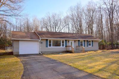 Pocono Summit Single Family Home For Sale: 329 Stillwater Drive