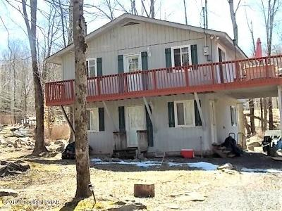 Pocono Lake PA Single Family Home For Sale: $84,900