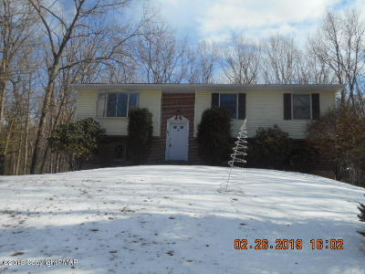 Saylorsburg Single Family Home For Sale: 201 Woods Crossing
