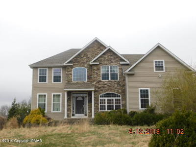 Saylorsburg Single Family Home For Sale: 2782 Rising Hill Dr