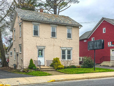 Stroudsburg Commercial For Sale: 112 N 9th St