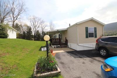 Kunkletown PA Single Family Home For Sale: $49,500