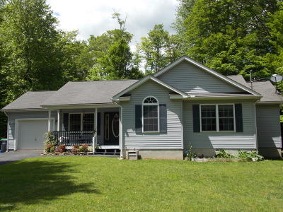 Pocono Summit Single Family Home For Sale: 1132 Trapper Ln