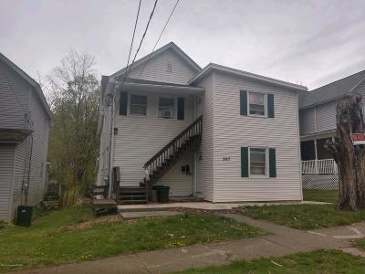 East Stroudsburg Multi Family Home For Sale: 267 Brodhead Ave