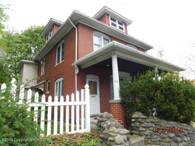Stroudsburg Single Family Home For Sale: 49 Broad St