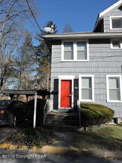 Stroudsburg Single Family Home For Sale: 17 Fetherman Street
