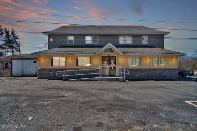Mount Pocono Commercial For Sale: 1182 Pocono Blvd
