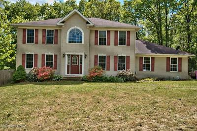 Mount Pocono Single Family Home For Sale: 23 Deerfield Dr