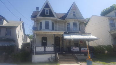 Jim Thorpe Single Family Home For Sale: 14 W Front St