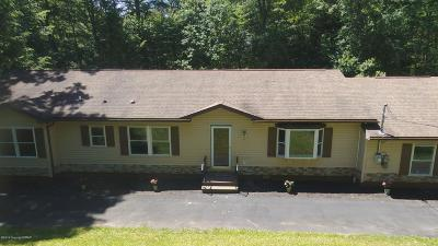 Kunkletown Single Family Home For Sale: 521 Lower Middle Creek Rd