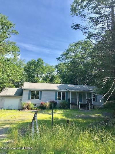 Pocono Lake PA Single Family Home For Sale: $109,500