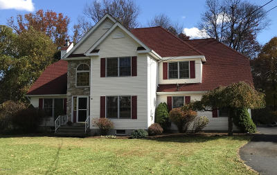 Stroudsburg Single Family Home For Sale: 70 Kautz Road