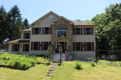 Saylorsburg Single Family Home For Sale: 370 Silver Valley Rd