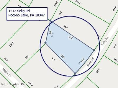 Pocono Lake Residential Lots & Land For Sale: 1512 Selig Rd