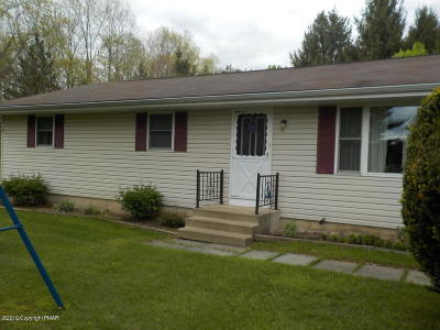 Saylorsburg Single Family Home For Sale: 125 Burchell Ln