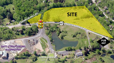 East Stroudsburg Commercial For Sale: Independence Rd