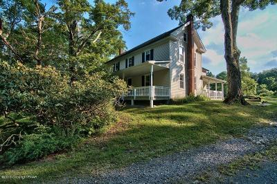 East Stroudsburg Single Family Home For Sale: 484 Mt Nebo Road