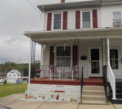 Jim Thorpe Single Family Home For Sale: 809 Lehigh St