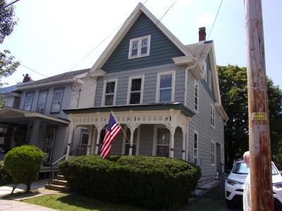 Jim Thorpe Single Family Home For Sale: 18 E Fourth St