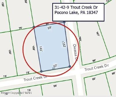 Pocono Lake Residential Lots & Land For Sale: 31-42-9 Trout Creek Dr